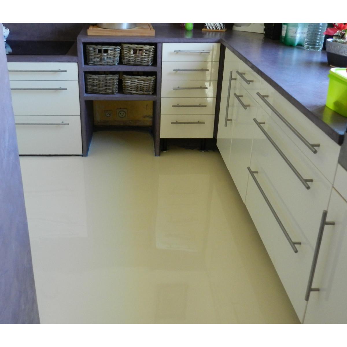 Peinture résine epoxy cuisine et sol intérieur | Maison Étanche