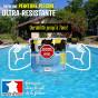 ARCAPISCINE - Peinture piscine Protection et décoration Support béton et ciment Mise en oeuvre facile Bleu blanc ou gris