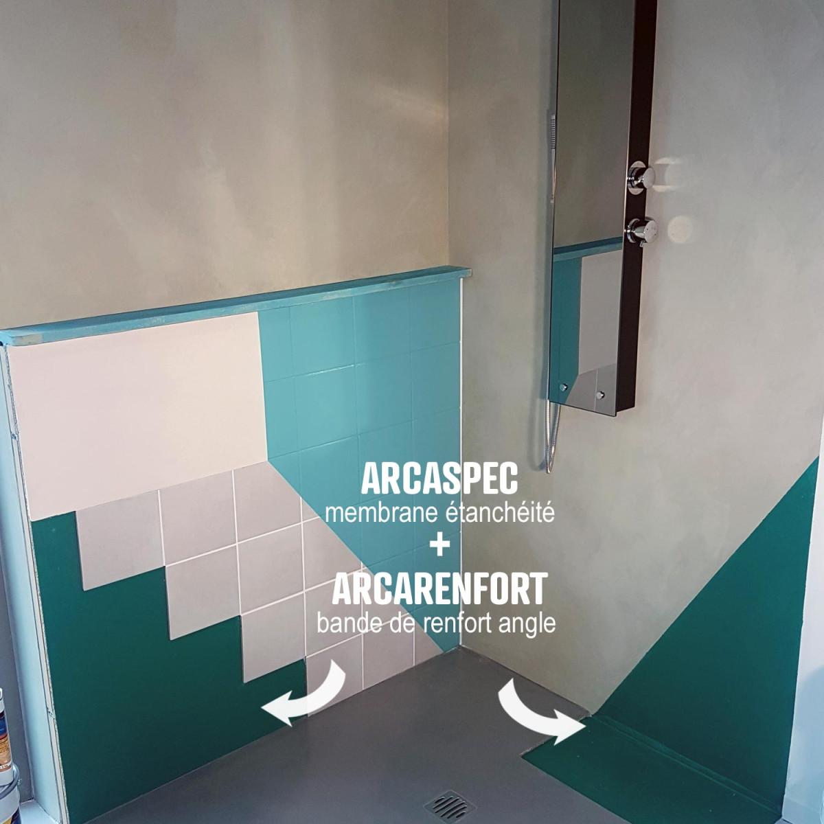 tanch it douche salle de bain sous carrelage et b ton cir kit. Black Bedroom Furniture Sets. Home Design Ideas