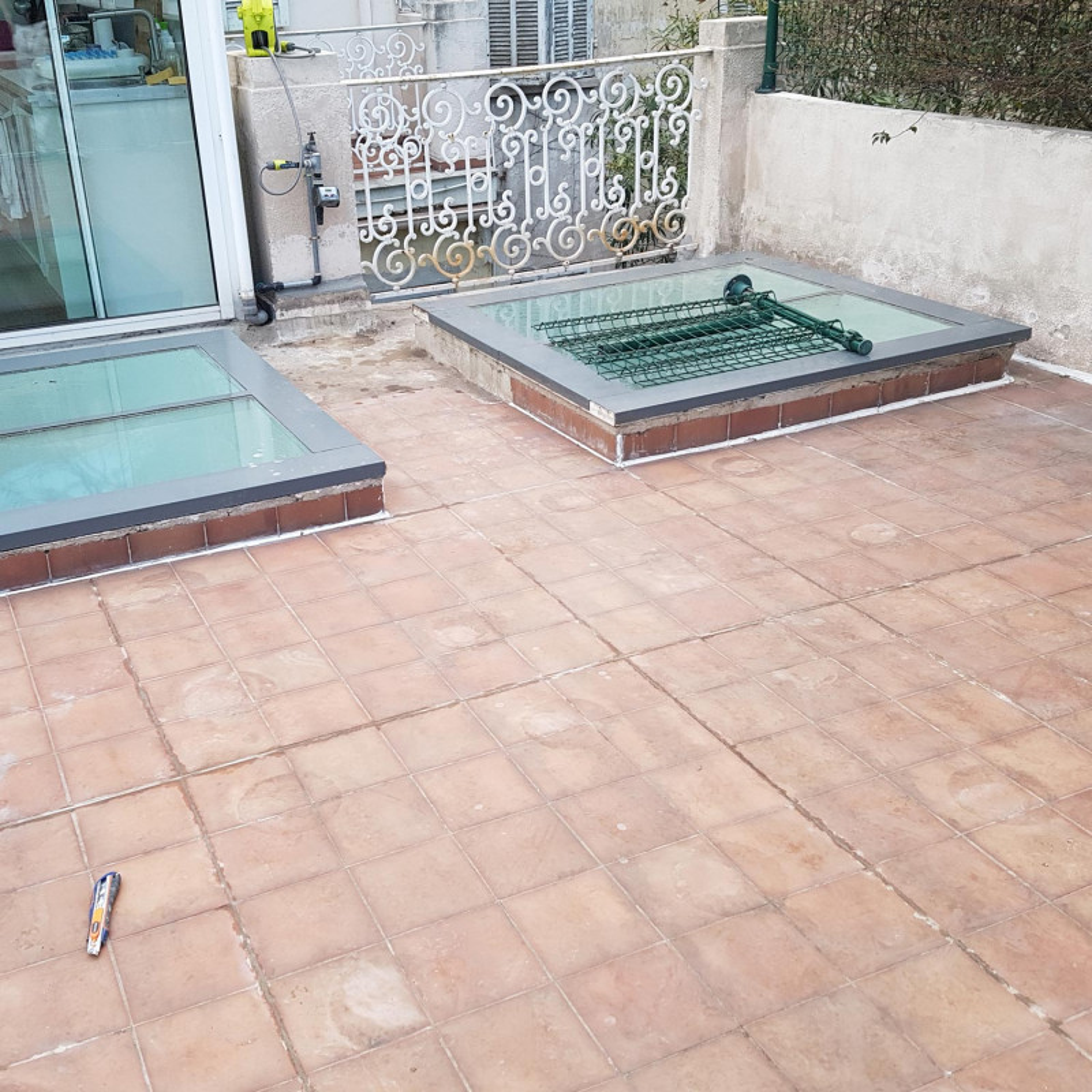 Produit tanch it toit plat terrasse r sine arcathan for Etancheite toit plat