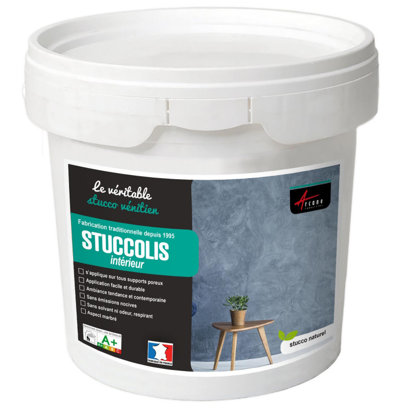 KIT STUCCOLIS - Kit stuc venitien enduit stucco spatulable décoratif