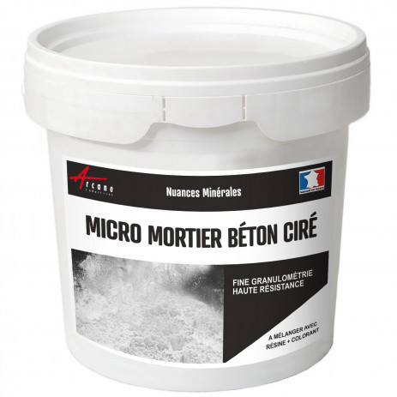 MICRO-MORTIER BETON CIRE