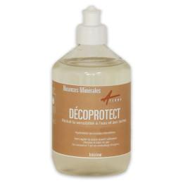 Hydrofuge protection eau gras pour peinture minerale argile chaux - DECOPROTECT