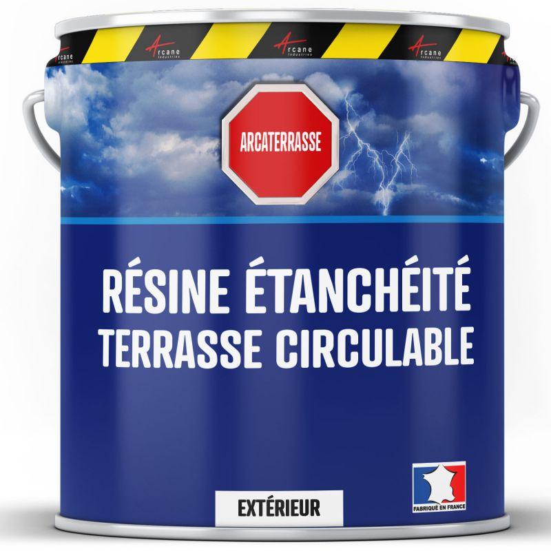 Peinture d'étanchéité pour terrasse - Revêtement extérieur à base de résine : ARCATERRASSE